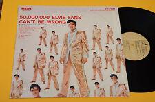 ELVIS PRESLEY LP 50 MILION FANS ITALY 1975 MINT ! UNPLAYED ! MAI SUONATO