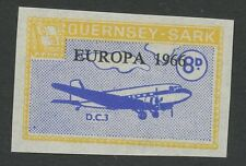 Guernsey SARK 1966 Europa 8D Imperf proofunissued colore + valore