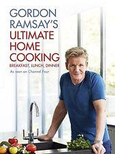 Gordon Ramsay's Ultimate Home Cooking New Hardcover Book Gordon Ramsay