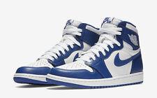 Nike Air Jordan 1 Retro High OG BG SZ 4Y White Storm Blue AJ1 GS 575441-127