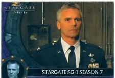Stargate Sg1 Season 7 Promo Card UK