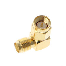 17x15mm SMA Male To SMA Female Right Angle 90º RF Coaxial Connector Adapter