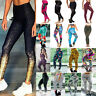 US Women Yoga Fitness Leggings Running Gym Sports Jogging Pants Workout Trousers