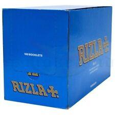 Box Rizla Blue Cigarette Rolling Papers 100 Booklets Original/Regular