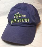 CURSE OF THE JADE SCORPION Movie Promotional Hat Dreamworks SKG Film RARE Woody