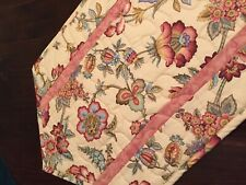 Handcrafted-Quilted Table Runner -Spring Has Sprung -Abstract Floral + Flowers