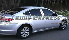 2009-2012 Mazda 6 Mazda6 Sedan Chrome 6Pc Pillar Post Stainless Steel Trim Door