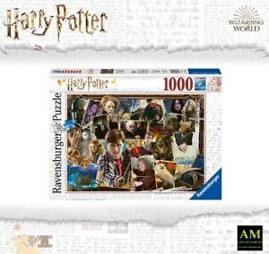 Ravensburger Puzzle - Collage Harry Potter Contre Livre 1000 Pièces - Emballage