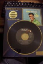 Elvis Presley Riaa Certified Platinum New Record In Plaque Are You Lonsome #5