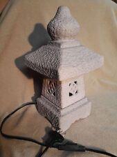 Lampe Leuchte Tischlampe Laterne Wintergarten Keramik Lampenhaus max 40 W