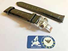 Leather Strap for Tissot T17 Black 19-18 19mm with Clasp TI4