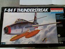 MAQUETA AVIÓN 1/48   F-84 THUNDERSTREAK (MONOGRAM # 74018)