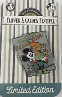 Disney Parks 2020 EPCOT Flower and Garden Festival AP Mickey Passholder Pin LE *