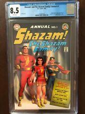 Shazam And The Shazam Family! Annual #1, 2002, DC, CGC Grade 8.5 VF+