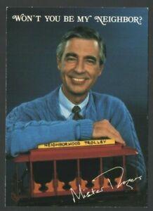 Hallmark Postcard MR. ROGERS   Won't You Be My NEIGHBOR?