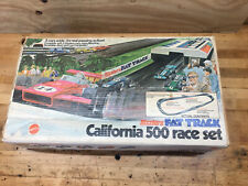 Hot Wheels Sizzlers Fat Track California 500 Box 4 Complete Turns Juice Machine