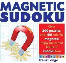 Magnetic Sudoku Longo, Frank Spiral-bound