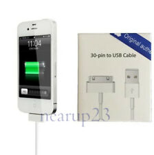 Apple iPhone 4 4S 3GS 3G 30 Pin USB Sync Data Cable Charger Charging Cord