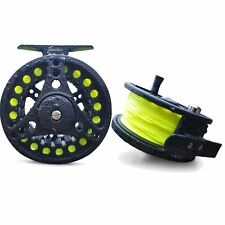 Flextec™ FreeFlo Fly Fishing Reel with Matching Floating WF Fly Line  AFTM 6/8