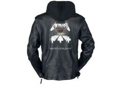 (Small) Metallica Master Of Puppets Leather jacket black (Motorcycle) (Coat)