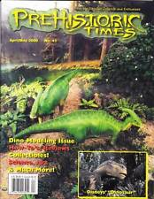 THE PREHISTORIC TIMES #41 - magazine of Dinosaur collecting, Disney's Dinosaur