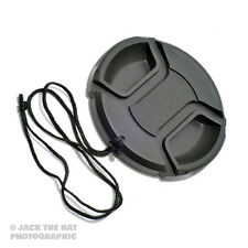 39mm Lens Cap with Centre Grip Pinch Release. Complete With Safety Cord.