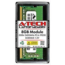 A-Tech 8 ГБ DDR4 2400 260-Pin для ноутбука PC4-19200 Sodimm для ноутбука памяти Ram 1x 8G