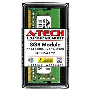 A-Tech 8GB DDR4 2400 PC4-19200 Laptop 260-Pin SODIMM Notebook Memory RAM 1x 8G