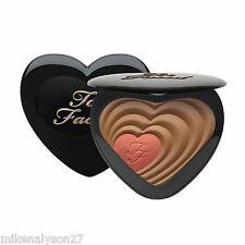 Too Faced Soul Mates Blushing Bronzer Duo Carrie & Big BNIB 0.6oz/18g