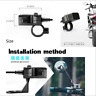 Motorbike Motorcycle Dual-USB Charger Power Socket Adapter Outlet 3.1A
