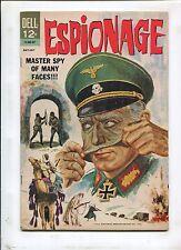 ESPIONAGE #1 - MASTER SPY OF MANY FACES!!! (7.5) 1964