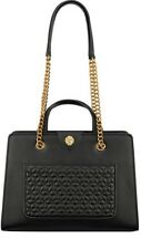 Women's Purses Anne Klein Quilted Chain Handbags F. Leather Tote Exterior Pocket