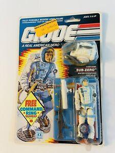 Hasbro G.I. Joe 1990 Sub-Zero V1 Command Ring A Real American Hero ARAH MOC