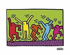UNTITLED, 1987 by Keith Haring Print, 14x11
