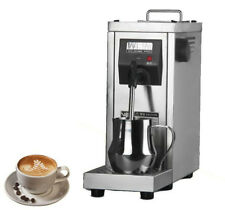 220V Commercial Auto Coffee Frother Milk Steamer Cappuccino Coffee Maker MS-130D