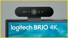 webcam LOGITECH BRIO ULTRA HD 4K con microfono per pc usb STREAM review videocam