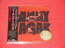 SAMMY HAGAR All Night Long with Bonus Track  JAPAN MINI LP SHM CD