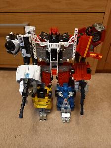 Transformers Combiner Wars, Sunstreaker, Ironhide, Prowl, Mirage & POTP Inferno