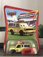 NEW Disney Pixar Cars diecast PIZZA PLANET TODD Race o Rama Series rare