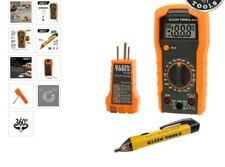 Klein Tools Electrical 3 Piece Multimeter Test Kit 69149 Sealed