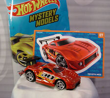 2015 Mystery Models #07 TOYOTA MR2 💫Burnt Red;pr5∞Sticker∞Hot Wheels