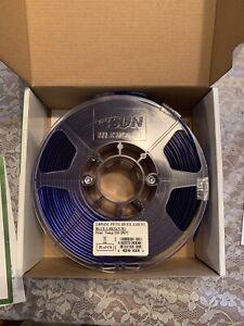 2.85mm PETG 3D Filament - 1kg - Blue - ESUN - Open Box/Never Used