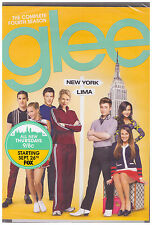 GLEE SEASON 4 (DVD, 2013, 6-Disc Set) NEW