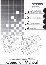 Brother CS6000i CS6000T CS770 ES2000 XR7700 Sewing Machine Instruction Manual