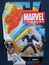 Marvel Universe Human Torch Dark Costume 3 3/4 Action Figure #11 Series 1 NIB