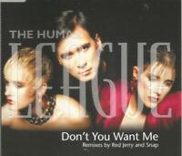 The Human League - Don't You Want Me (remixes)  1995 CD single