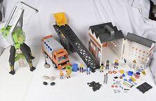 PLAYMOBIL Grue Camion Poubelle Garage Convoyeur de pierres 4041 4470 4418