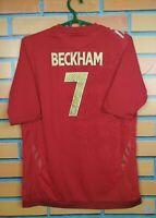 Beckham England Jersey 2006 2008 Away Kids Boys XL Shirt Football Soccer Umbro