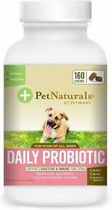 Pet Naturals of Vermont - Daily Probiotic for Dogs, Digestive Health Supplement