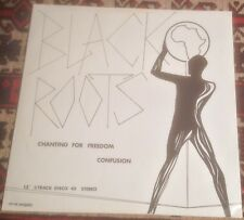 """BLACK ROOTS chanting for freedom*confusion*what them a do 1981 UK NUBIAN 12"""""""